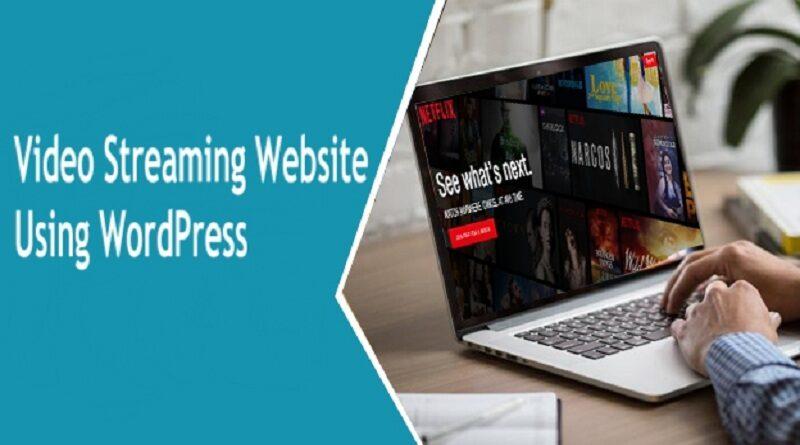 To Create Video Streaming Website Using WordPress