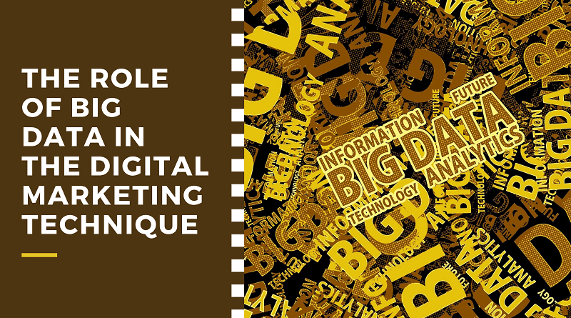 Role of Big Data In The Digital Marketing Technique