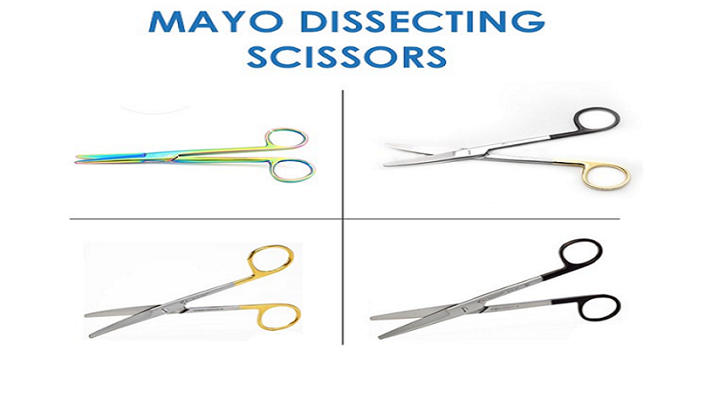 Experience The Smooth Cutting in surgeries With Mayo Dissecting Scissors