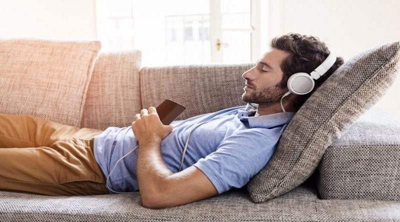 Sleeping With Headphones