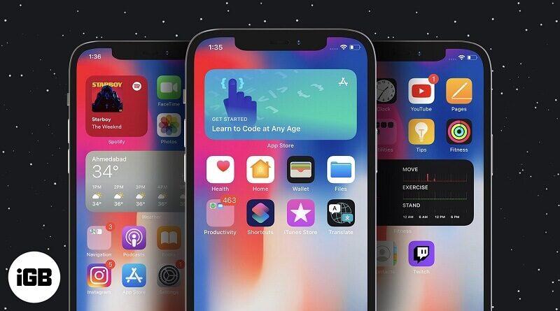 Widgets for iPhone 2021