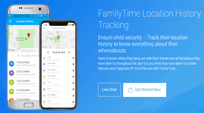 2.LOCATION HISTORY AND TRACKING